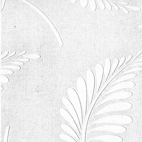 Superfresco Paintables - White Fern Wallpaper