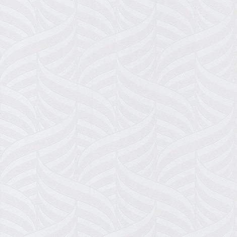 Superfresco Paintables - White Comb Wallpaper