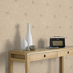 Superfresco - Beige Stencil Wallpaper