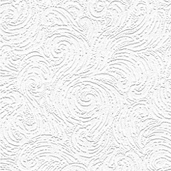 Superfresco Paintables - White Seafoam wallpaper
