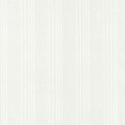 Superfresco Paintables - White Venere wallpaper