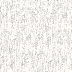 Superfresco Paintables - White Bark Woodchip Cover Wallpaper