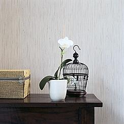 Graham & Brown - Beige linda barker grasscloth wallpaper
