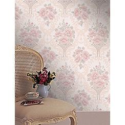 Superfresco - Pink Basket Wallpaper