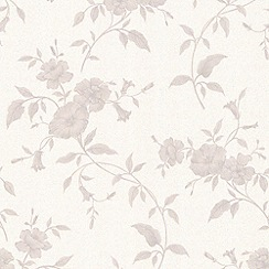 Graham & Brown - Grey Tapestry Wallpaper