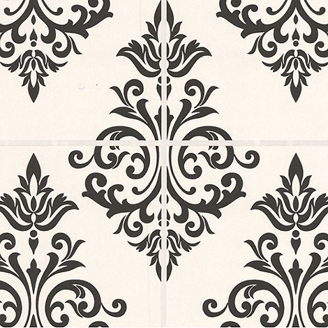 Contour - Black/White Pallade Wallpaper