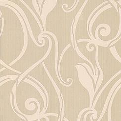 Superfresco - Gold muse wallpaper