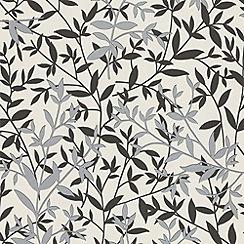 Superfresco Easy - Black/White Bijou Wallpaper