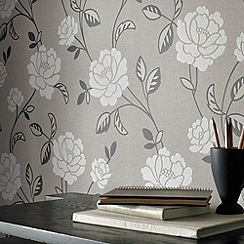 Superfresco - Mushroom Fleur Wallpaper