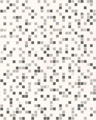 Contour Black/White Checker Wallpaper - . -