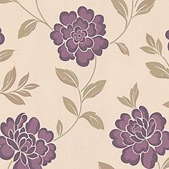 Superfresco - Plum Iris wallpaper