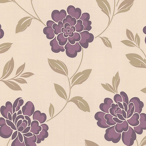 Superfresco - Plum Iris wallpaper
