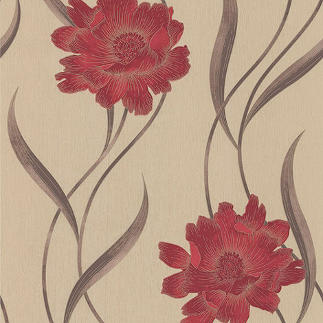 Superfresco - Red Poppy wallpaper