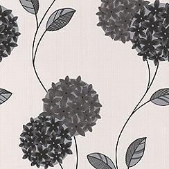 Superfresco - Black/White Pippa Wallpaper