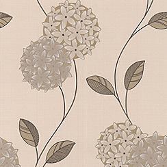 Superfresco - Cream/Stone Pippa Wallpaper