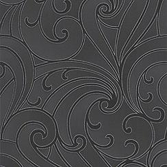 Premier - Charcoal Saville Premier Wallpaper