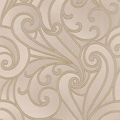 Premier - Beige Saville Premier Wallpaper