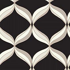 Superfresco - Charcoal Mika Wallpaper