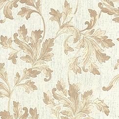 Superfresco - Natural Acanthus Wallpaper