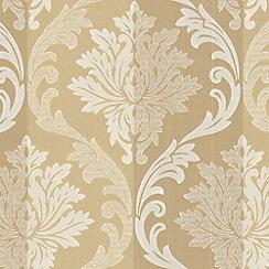 Superfresco - Cream Splendour Wallpaper