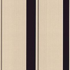Superfresco - Plum Barley Stripe Wallpaper