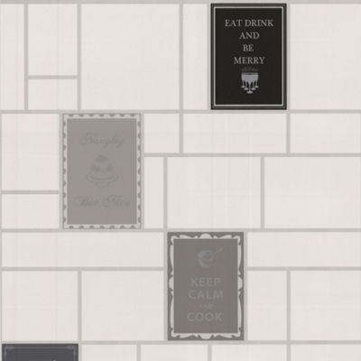 Contour Black Keep Calm Wallpaper - . -