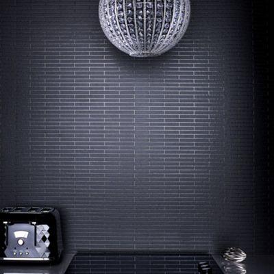 Contour Black Sparkle Wallpaper - . -