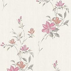 Superfresco - Pink Reed Wallpaper