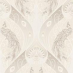 Superfresco - Cream Pendleton Wallpaper