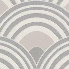Superfresco - Taupe Ennis Wallpaper