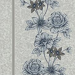 Superfresco - Navy Clancy Wallpaper