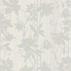Laurence Llewelyn-Bowen - White Marble LLB Paradise Garden Wallpaper