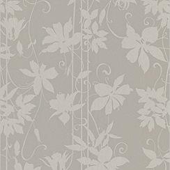 Laurence Llewelyn-Bowen - Smoke LLB Paradise Garden Wallpaper