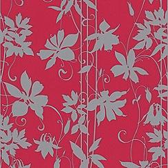 Laurence Llewelyn-Bowen - Segaglio Pink LLB Paradise Garden Wallpaper