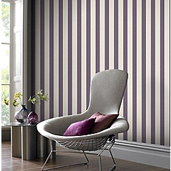 Superfresco - Thistle ticking stripe wallpaper