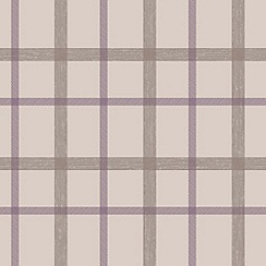 Superfresco - Thistle plaid wallpaper