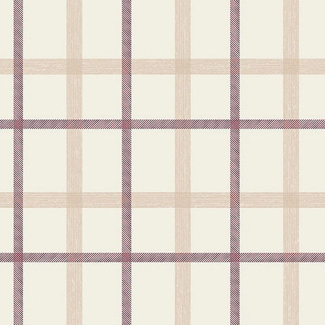 Superfresco - Russet plaid wallpaper