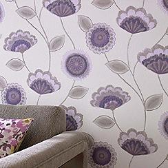 Superfresco - Lavender Romany Wallpaper