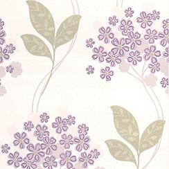 Superfresco - Lavender Festival Wallpaper