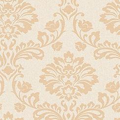 Superfresco - Cream/Sand Aurora Wallpaper