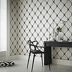 Superfresco - Black/White Olympus Wallpaper