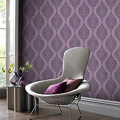 Superfresco - Plum Luna Wallpaper