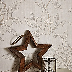 Superfresco - Gold Bloom Wallpaper
