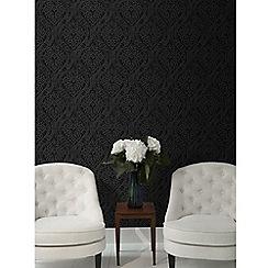 Graham & Brown - Black Savannah Wallpaper