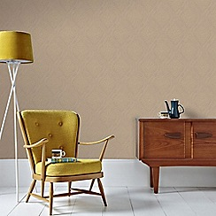 Graham & Brown - Gold Savannah Wallpaper