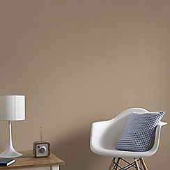 Graham & Brown - Bronze Organza Wallpaper