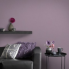 Graham & Brown - Purple Organza Wallpaper