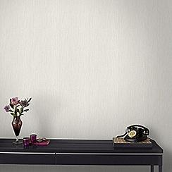 Graham & Brown - Cream Pearl Crushed Silk Wallpaper