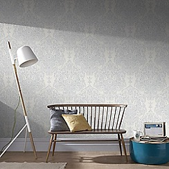 Superfresco - Grey Melody Wallpaper