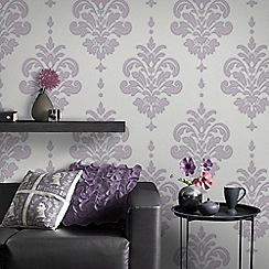 Superfresco - Lilac Olana Wallpaper